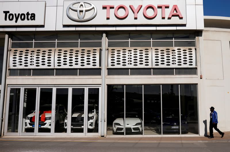 Exclusive: South Africa's COVID-hit carmakers ask govt to cut taxes on new cars