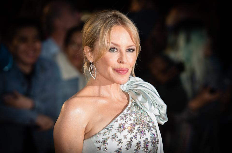 LONDON, ENGLAND - SEPTEMBER 03: Kylie Minogue attends the GQ Men Of The Year Awards 2019 at Tate Modern on September 03, 2019 in London, England. (Photo by Samir Hussein/WireImage)