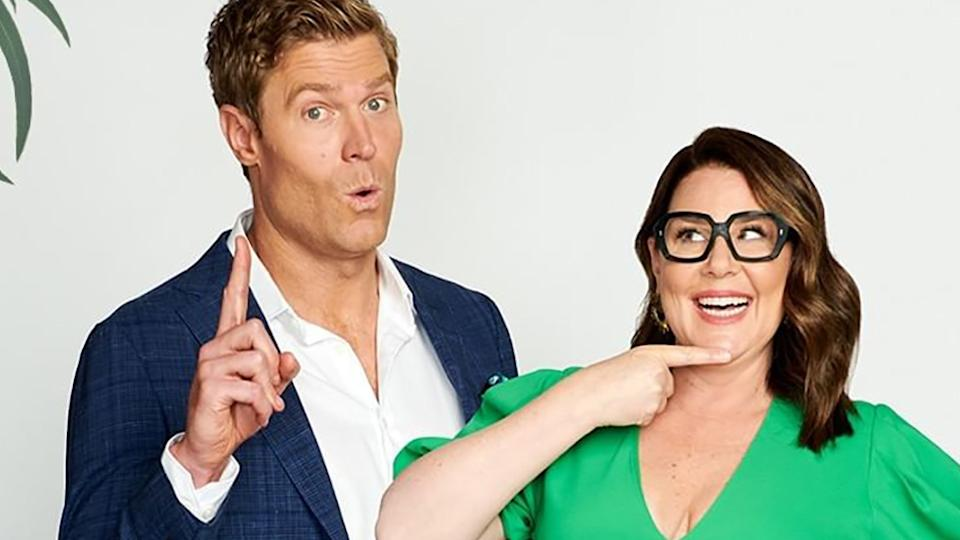 I'm A Celebrity... Get Me Out Of Here! hosts Dr Chris Brown and Julia Morris