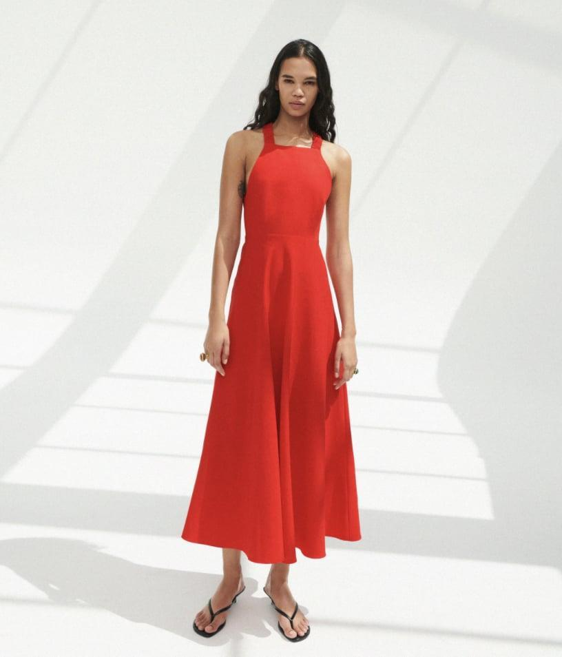 <p>Face it, rhis <span>Zara Linen Blend Dress</span> ($50) is the kind of piece you'll be wearing on the weekly. I know I will style mine with white kicks and a denim jacket.</p>
