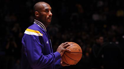 Kobe Bryant is confident the Lakers can make the playoffs next season. (AP)
