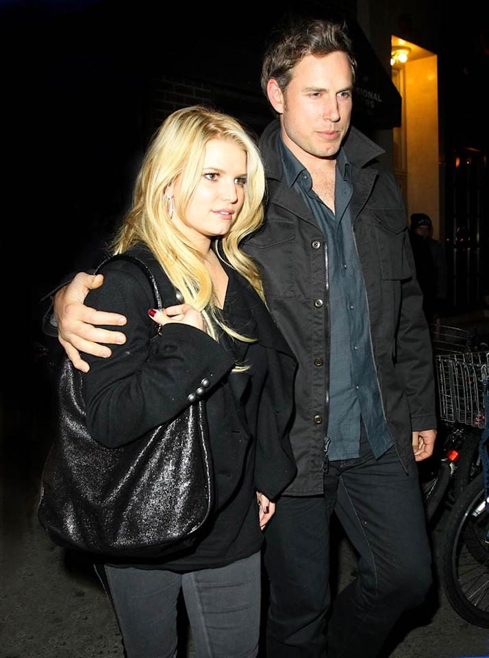 """""""Jessica's A Homewrecker,"""" reads the headline of a story about Jessica Simpson in <i>Star</i>, which details how """"she stole her new fiancé Eric [Johnson] away from his wife."""" According to the magazine, Johnson and his then-wife Keri met Simpson through a mutual friend in 2009, and shortly after the couple split. """"Jessica was making moves on Eric,"""" says their source. For more dish on how Simpson became """"a man-stealer,"""" read all the scoop on <a href=""""http://www.gossipcop.com/jessica-simpson-homewrecker-stole-eric-johnson-wife/"""" target=""""new"""">Gossip Cop</a>. Brian Prahl/Lee Neal/<a href=""""http://www.splashnewsonline.com/"""" target=""""new"""">Splash News</a> - November 24, 2010"""