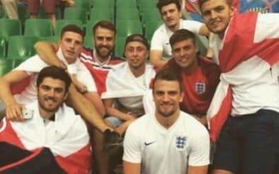 "The picture could have been of any group of eight lads among the thousands of England fans at Euro 2016, but look carefully and the unassuming face at the back is that of the man who is hoping to start his country's first World Cup game in Russia. Harry Maguire travelled to France to join his friends in Saint Etienne for England's game against Slovakia and soak up the atmosphere of a major tournament from the fans' perspective. It is just another demonstration of how far Maguire has come in such a short amount of time that he was able to go largely unnoticed as he sat among the England supporters and sang along with their chants. Two years on and Maguire is aiming to line up alongside John Stones and Kyle Walker in England's back three for the first Group G game against Tunisia next Monday, and his mates will once again be in the stands with the flag he was carrying. Should he ever lose his place in Gareth Southgate's squad in the future, then Maguire insists he will travel with the fans to another major tournament. Harry Maguire travelled to France to join his friends in Saint Etienne Credit: Instagram Recalling his Euro 2016 trip, following promotion to the Premier League with Hull City, Maguire said: ""My friends were out there, they actually went out there for a couple of games. I had a few days spare in the summer so I thought there's nothing better than to go out there, see the atmosphere, it was a great few days. See the passion of the fans. It was a great experience and one I'd definitely do again. ""It went pretty smoothly to be honest. Thankfully, the person who organised it was pretty good. We went to Paris for a couple of nights and we stayed where the game was (Saint Etienne) a couple of nights, it wasn't anything plush and posh. It was what the England fans do. ""I can't remember my rooms. I know the lads did it really cheap, I just jumped on it at the end. I just jumped in their hotels. It definitely wasn't an expensive trip. England Formation Builder ""There were a few who recognised me. Mainly Hull fans or Sheffield United fans. Not really too many to put me off going, though. It was nice to interact and be part of it and mingle in with the fans without getting too much recognition. ""I really was over there acting like a fan. Chanting away and enjoying myself with my mates. It was a great time. A great experience. Probably I'll be doing again in the future. I'm sure I'll be over there one time with my mates whether it's in a near future or further away."" All of Maguire's family and close friends are heading to Russia, and the 25-year-old had first-hand experience of the effort and expense involved in following England. World Cup whatsapp promo ""It's a trip that costs a lot of money,"" he said. ""It's good to know I've experienced it, I've seen the passion the fans show. I know what it means to everyone. We're going to go there and try to give it everything we can to be a success. ""You do see it from a different side once you're involved. I was playing at Hull in the Championship. I was a fan. I was watching games, been to one, watching games round at people's houses. I was a fan, I still am a fan and if I wasn't selected to be in the England squad this time I'd be there, I'd be a fan, I'd be watching it on TV, gearing up for games, still getting nervous for games. I'm passionate about England, I've always been growing up, now I'm looking forward to the tournament."" Asked what his mates who were with him in France thought of his selection for England's World Cup squad, Maguire said: ""I'm sure they think it's as surreal as what it is to me when I first found out. It's a great occasion for myself. They'll go there as big fans and supporting myself as well. They've still got the flags and I'm sure they will be taking them to Russia."" WorldCup - newsletter promo - end of article"