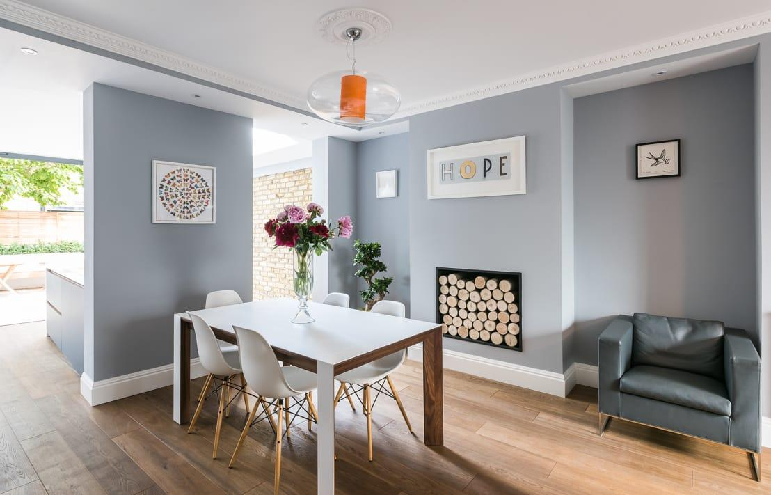 <p>Don't forget to open windows and switch on fans while painting. And remember that keeping the room warm and a fan blowing will speed up the drying process.</p>  Credits: homify / Grand Design London Ltd