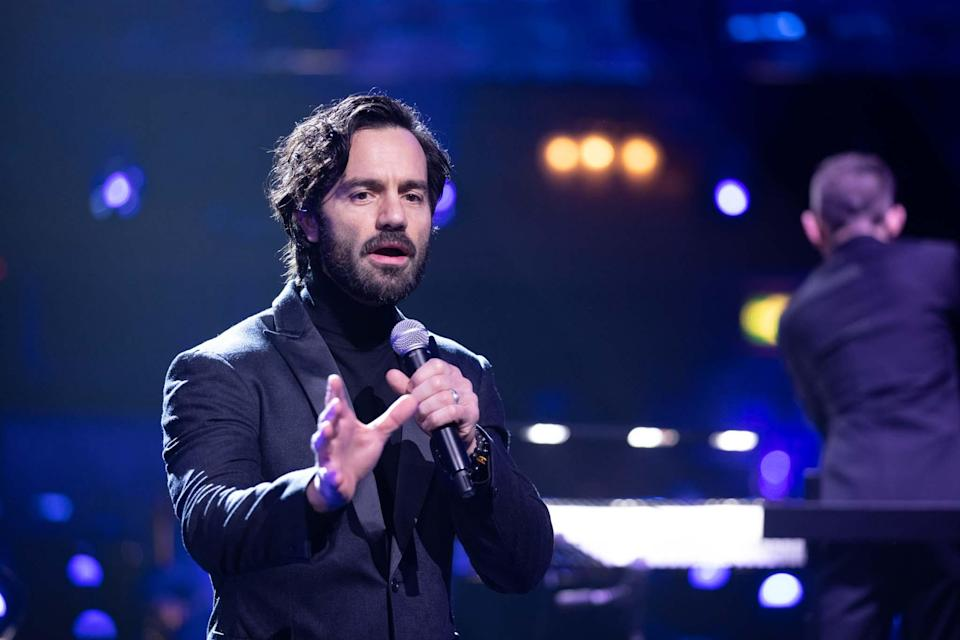 Ramin Karimloo performs at the PalladiumBBC/Guy Levy