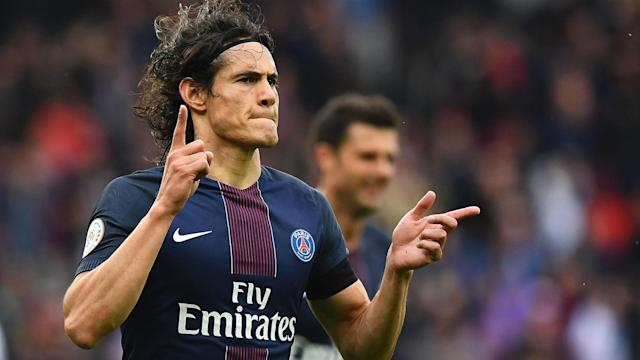 The Uruguay international striker has committed his future to the reigning Ligue 1 champions in the midst of a season in which he has scored 44 goals