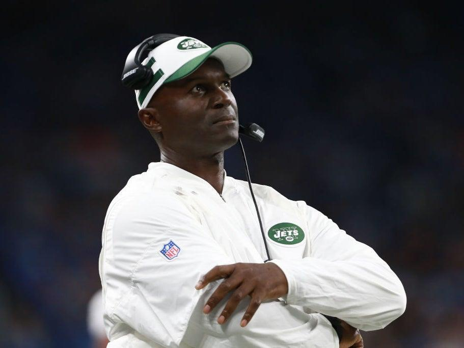 Todd Bowles served as the head coach of the New York Jets from 2015-2018Getty