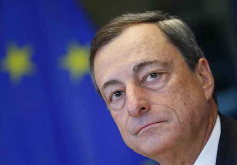 European Central Bank (ECB) President Mario Draghi waits for the start of the European Parliament's Economic and Monetary Affairs Committee meeting in Brussels September 23, 2013. REUTERS/Yves Herman