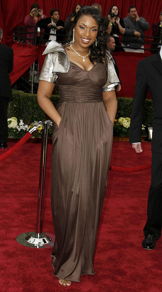"""Jennifer Hudson, nominee Best Actress in a Supporting Role for """"Dreamgirls"""" at <a href=""""/the-79th-annual-academy-awards/show/40213"""">The 79th Annual Academy Awards</a>."""