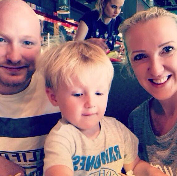 Gemma showed her partner just what life as a stay-at-home mum is like. Photo: Facebook