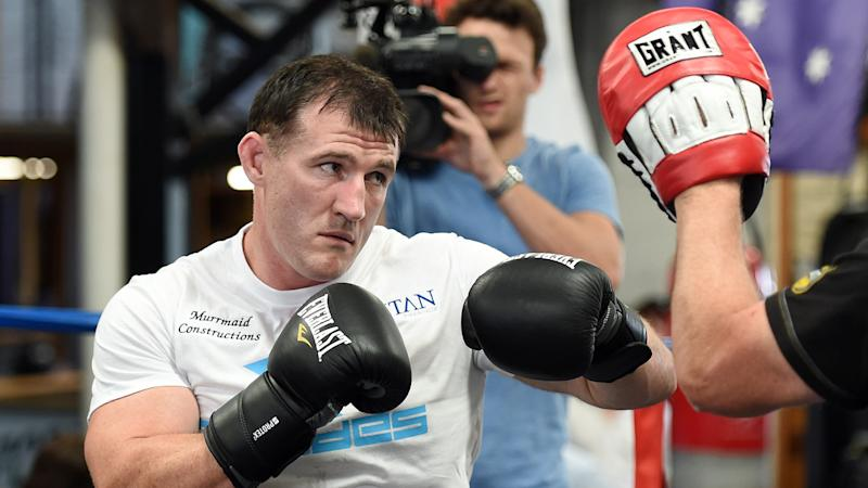 Rugby league star Paul Gallen hopes to squeeze in one more boxing bout before the NRL season starts.