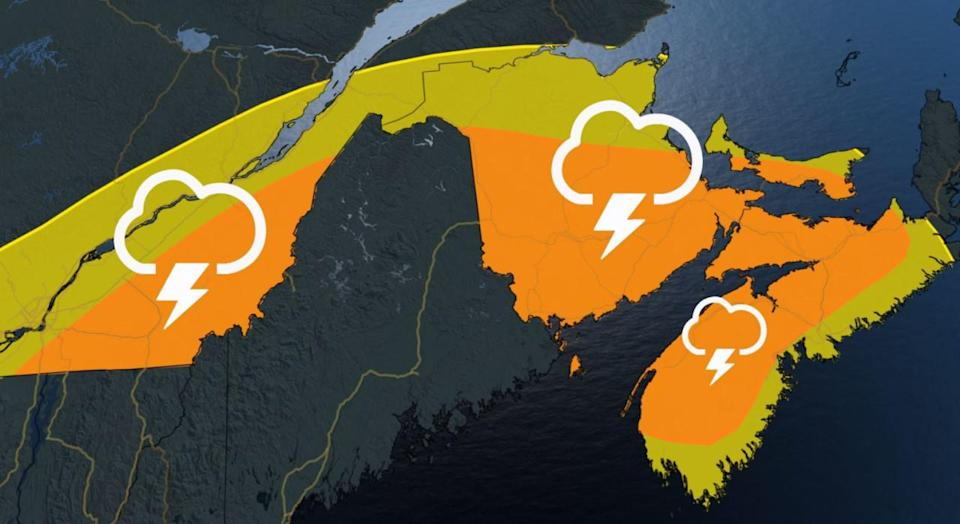 Extreme heat prompts warnings on East Coast, heightened risk for severe storms