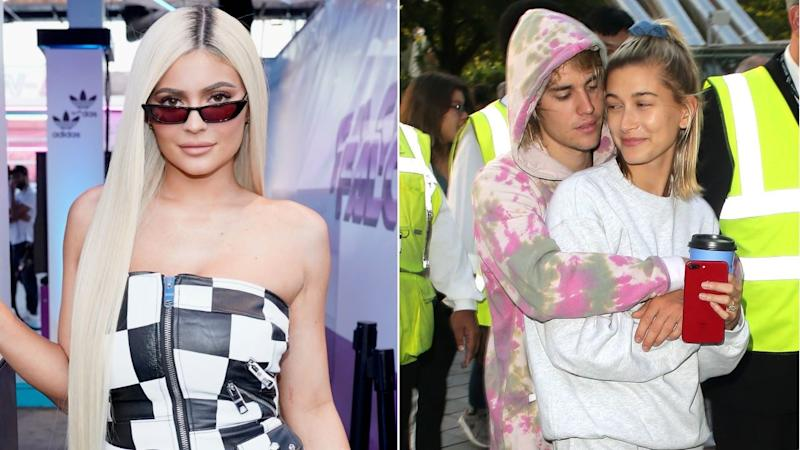 a97f8e3650 Kylie Jenner Jokes With  Love Birds  Justin Bieber and Hailey Baldwin on  Instagram