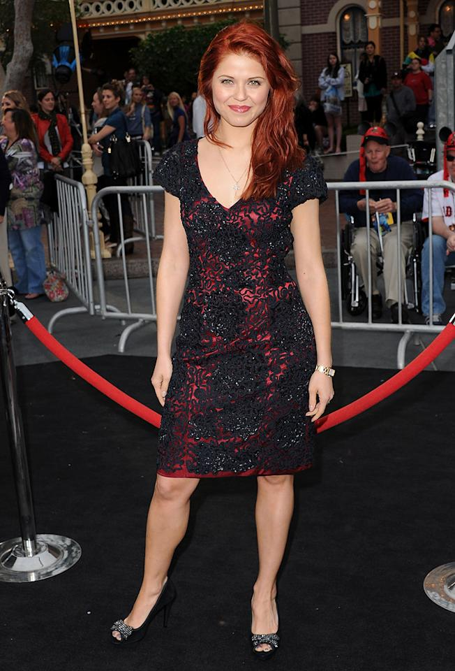 """Anna Trebunskaya attends the Disneyland premiere of <a href=""""http://movies.yahoo.com/movie/1809791042/info"""">Pirates of the Caribbean: On Stranger Tides</a> on May 7, 2011."""