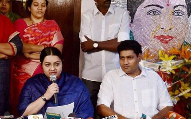 The fight for Amma's legacy is far from over, now Deepa Jayakumar's husband floats a party