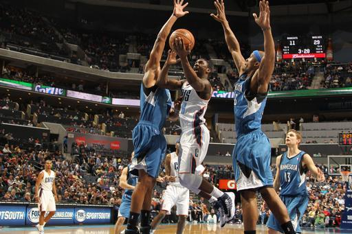 CHARLOTTE, NC - JANUARY 26: Ben Gordon #8 of the Charlotte Bobcats shoots against the Minnesota Timberwolves at the Time Warner Cable Arena on January 26, 2013 in Charlotte, North Carolina. (Photo by Kent Smith/NBAE via Getty Images)