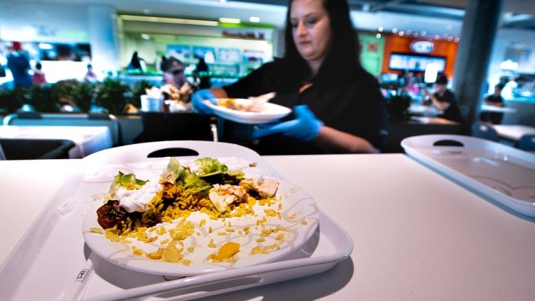 How one Canadian food court eliminated 117 bags of garbage a day