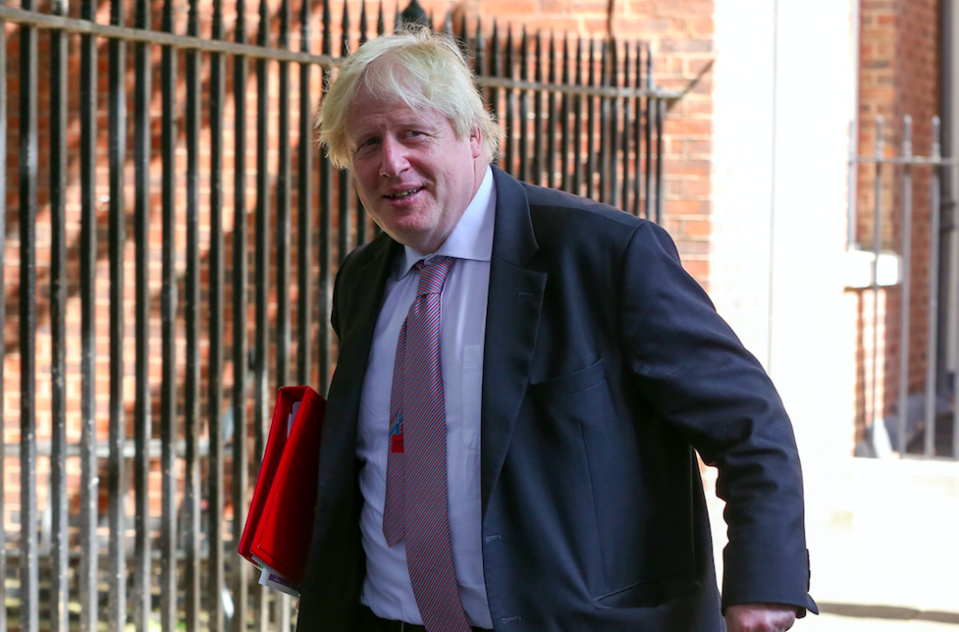 <em>All eyes are on Boris Johnson to see if he will also quit the Government (Rex)</em>