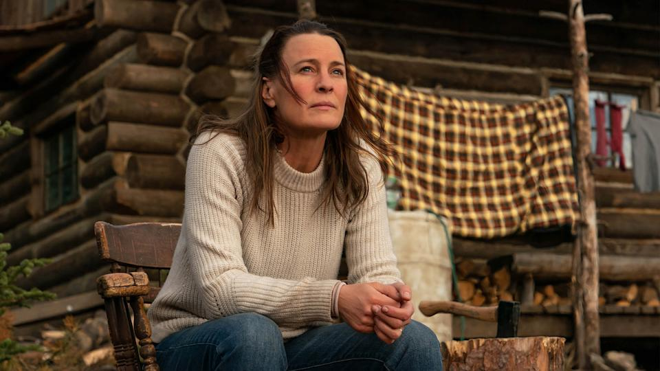 Robin Wright stars in and makes her directorial debut with 'Land,' which premieres at this year's Sundance Film Festival. (Photo by Daniel Power, courtesy of Sundance Institute/Focus Features)