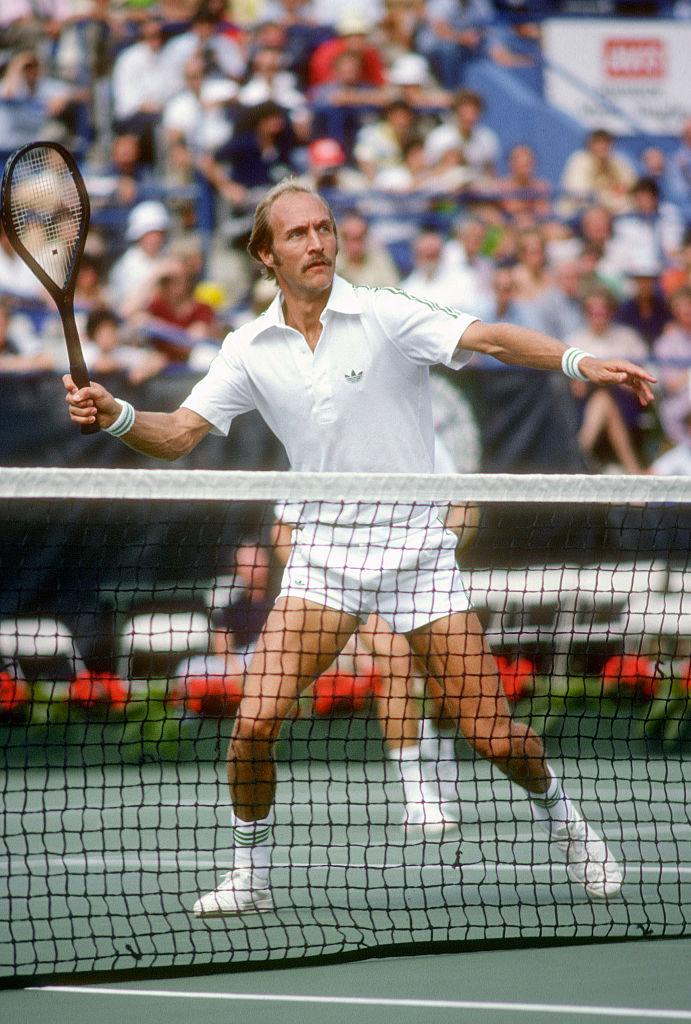 Stan Smith at the men's 1979 U.S. Open Tennis Championships in Queens, New York. (Photo: Focus on Sport/Getty Images)