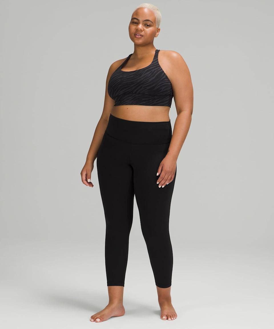 """<p>Fair warning: you're going to want to live in the <span>Align Pant II</span> ($98). It is so buttery soft, you'll feel like you're not wearing anything - which, in fact, is the purpose of the fabric it's made of, Nulu. This is definitely a yoga pant, but it's also an errands pant, a brunch pant, or really just an anytime pant. I have spent a good portion of the last year on the couch in these pants, and I might just have to get another pair. Plus, now there's even a <a href=""""https://www.popsugar.com/fitness/lululemon-align-leggings-with-pockets-48209390"""" class=""""link rapid-noclick-resp"""" rel=""""nofollow noopener"""" target=""""_blank"""" data-ylk=""""slk:pair with pockets"""">pair with pockets</a>!</p> <p><b>Why we love it:</b> The soft, comfortable leggings of your dreams do exist, and you'll find yourself doing laundry just so that you can wear them again.</p>"""