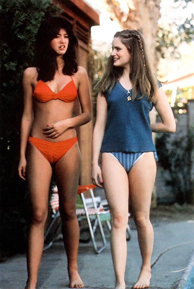 """Phoebe Cates<br>""""Fast Times at Ridgemont High"""" (1982)"""
