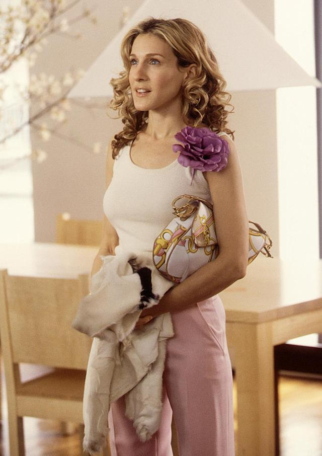 Sarah Jessica Parker in the third season of <em>Sex and the City</em>. (Photo: Getty Images)