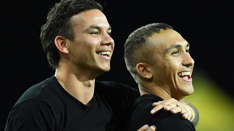 Richmond players Daniel Rioli and Shai Bolton were involved in a nightclub altercation over the weekend, the club has confirmed. (Photo by Matt Roberts/AFL Photos/via Getty Images)