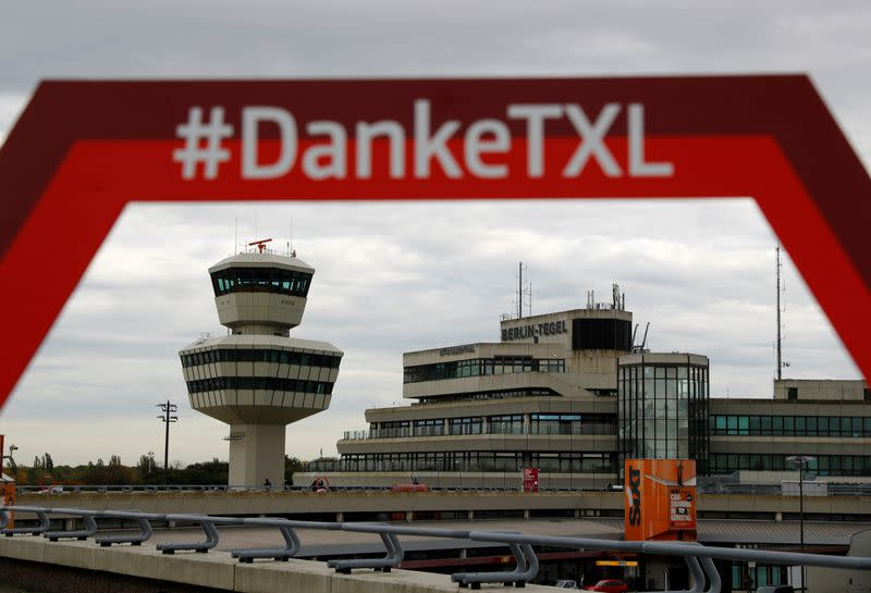 FILE PHOTO: Tegel Airport ahead of its permanent closing in Berlin
