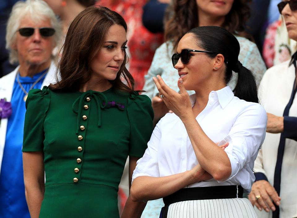 Kate and Meghan (PA Archive)