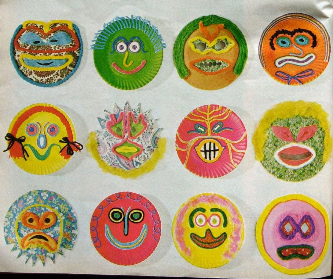 "<p>Cut out eye holes in a few paper plates and give kids markers to <a href=""http://www.thesprucecrafts.com/paper-plate-mask-craft-1252689"" target=""_blank"" class=""ga-track"" data-ga-category=""Related"" data-ga-label=""http://www.thesprucecrafts.com/paper-plate-mask-craft-1252689"" data-ga-action=""In-Line Links"">decorate personalized masks</a>, whether they want to go the superhero or princess route, the sky's the limit!</p>"