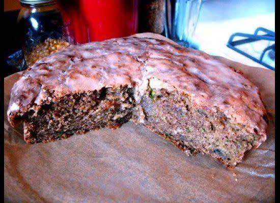 """Gina DePalma's Zucchini Olive Oil Cake """"When I think fall, I think cinnamon, I think nutmeg, I think ginger. This recipe is a great transition recipe, using an overly abundant summer ingredient (zucchini) in something that fills your apartment with the best smells of autumn. Make sure to use real nutmeg that you grate yourself; the pre-ground stuff has all the charm of sawdust."""" (Full Recipe <a href=""""http://www.amateurgourmet.com/2009/10/gina_depalmas_z.html"""" rel=""""nofollow noopener"""" target=""""_blank"""" data-ylk=""""slk:Here"""" class=""""link rapid-noclick-resp"""">Here</a>)"""