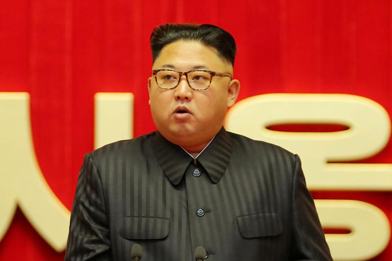 Threat: North Korean leader Kim Jong Un: KCNA/ REUTERS