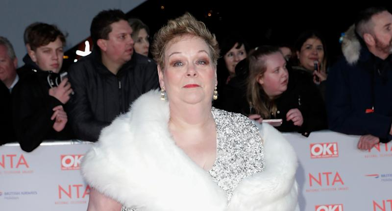 Anne Hegerty has become a panto star. (Photo by John Phillips/Getty Images)