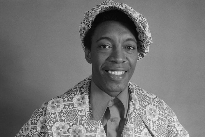 American R&B singer Major Lance. (Photo: Michael Putland/Getty Images)