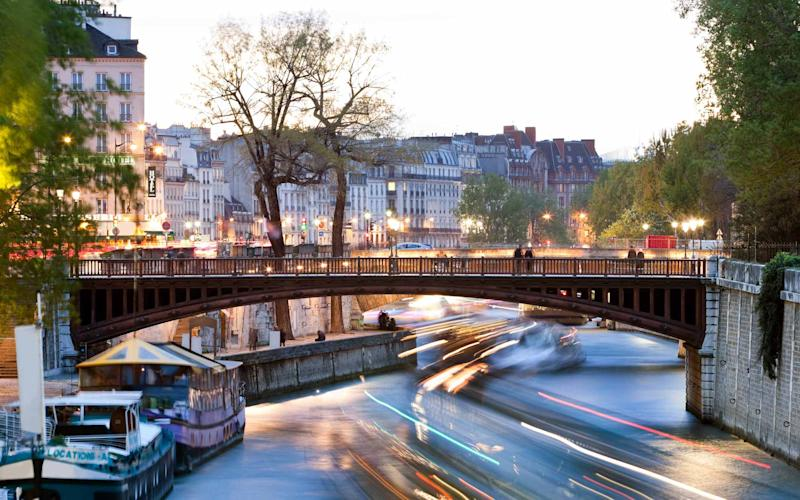 Europe's rivers, including the Seine, pictured, have seen a surge in the number of cruises in recent years - MACIEJ NOSKOWSKI