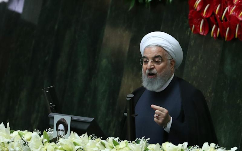 Iranian President Hassan Rouhani has told his cabinet to speed up legislation against so-called 'honour killings' - ABEDIN TAHERKENAREH/EPA-EFE/Shutterstock/Shutterstock