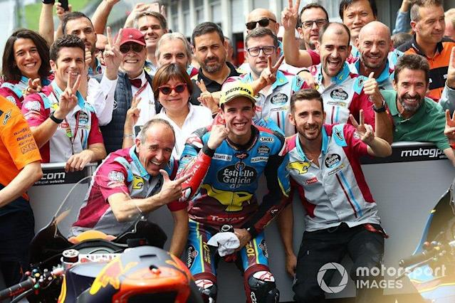 "Segundo lugar Alex Márquez, Marc VDS Racing <span class=""copyright"">Gold and Goose / LAT Images</span>"