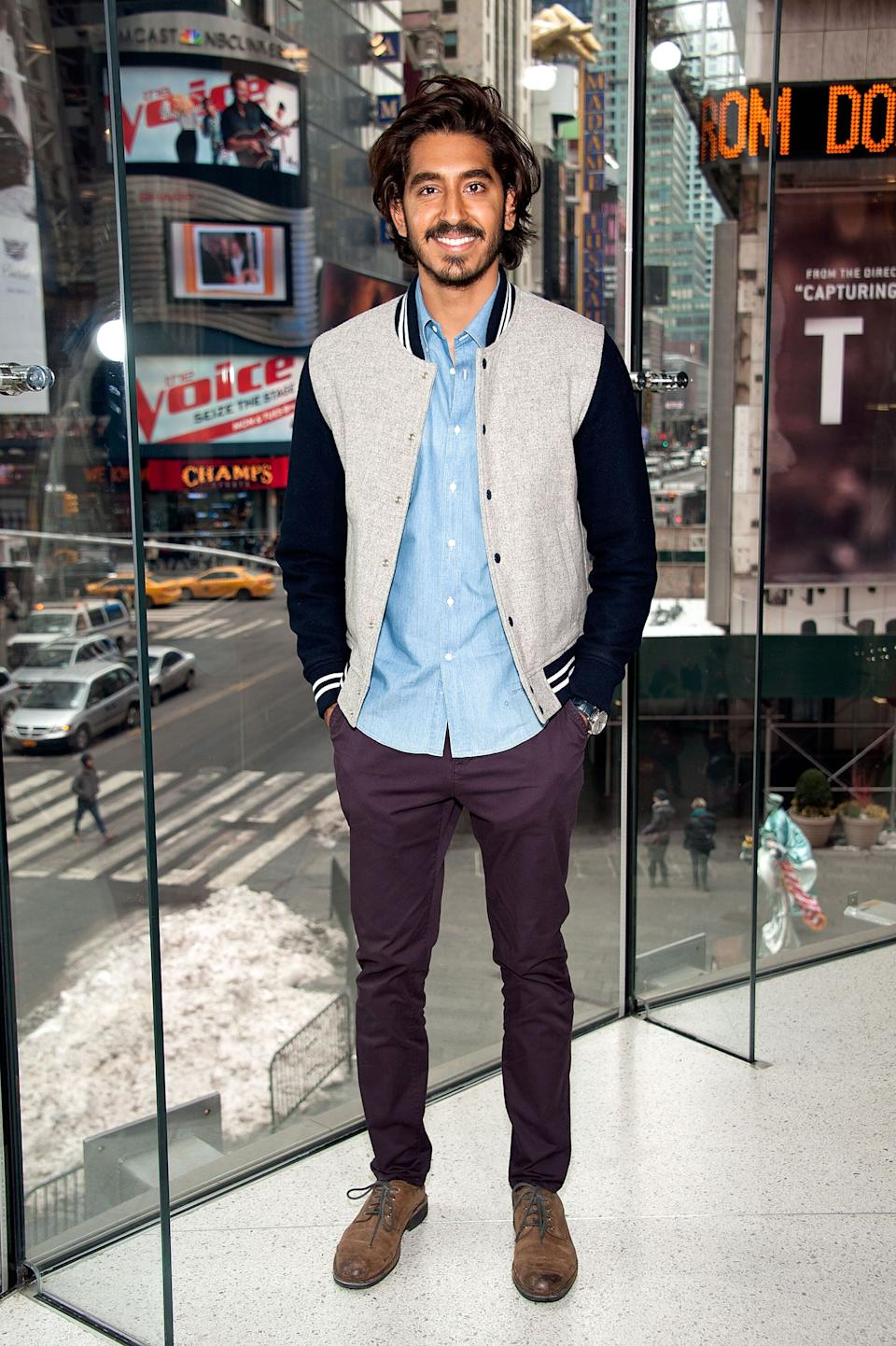 Patel at H&M in Times Square in New York City on March 3, 2015.