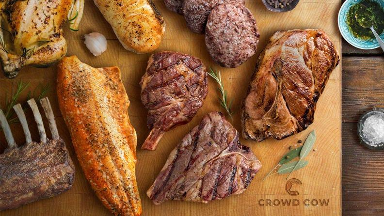 Crowd Cow has every type of meat and seafood you could want.