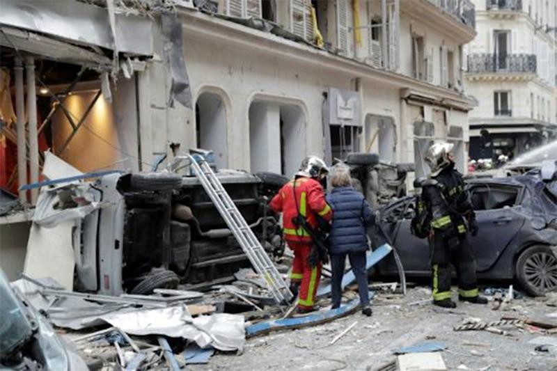 Paris explosion: The two firefighters who died were aged 27 and 28.