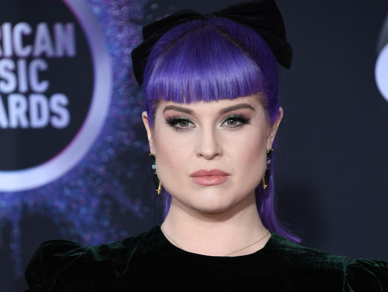Kelly Osbourne is proud of her new appearance. (PA)