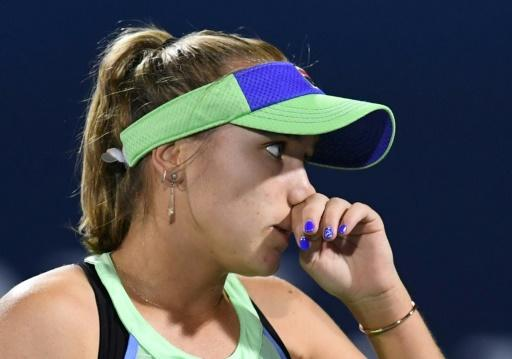 Sofia Kenin was born in Russia before moving to the US as a child