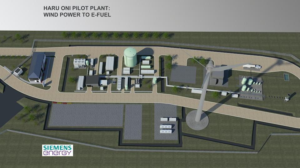 Synthetic fuel plant, Chile