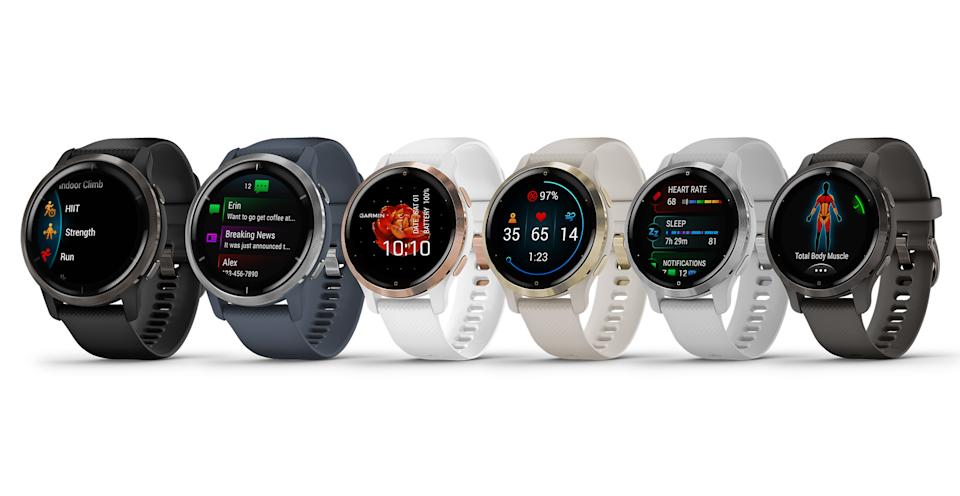 Garmin has unveiled the Venu 2 and smaller Venu 2S fitness-oriented smartwatches with a host of extra health features over the original Venu model.