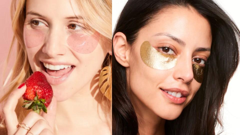 Patchology 5-Pack Serve Chilled Rosé All Day Eye Gels and Wander Beauty Baggage Claim Eye Masks