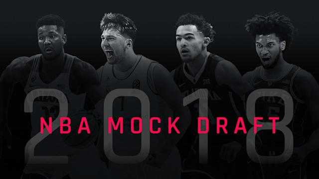 What will the Kings do at No. 2? How many trades will we see in the first round? There are still plenty of questions ahead of the 2018 NBA Draft, but here's our best guess at what happens with each pick.