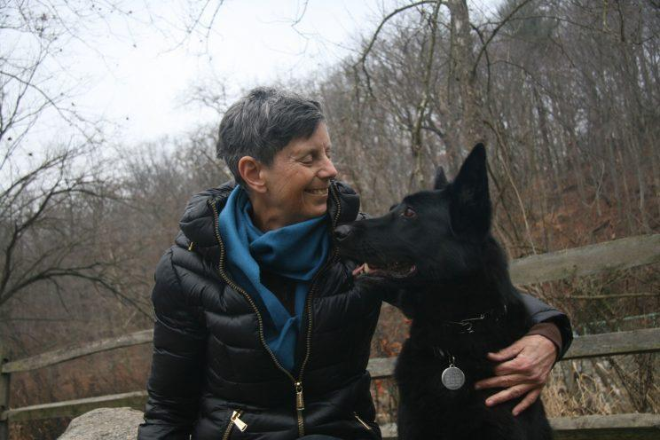Mary Klein and her dog Adina in 2015. (Photo: Courtesy of Mary Klein)