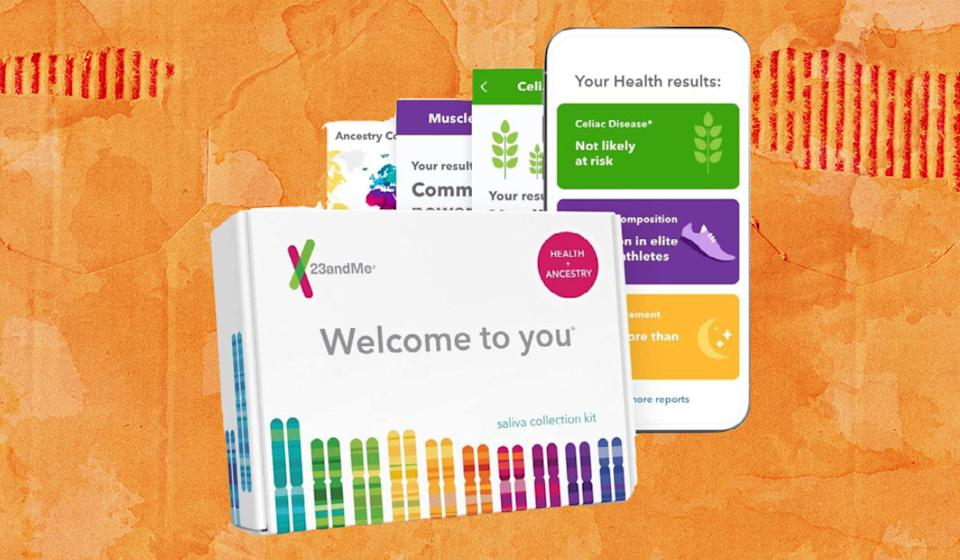 Spit-take! 23andMe kits test your DNA for origins, health markers and more. (Photo: 23andMe)