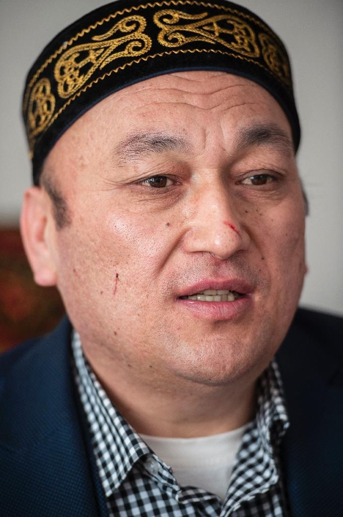 Omir Bekali, an ethnic Kazakh who spent several weeks in a camp in Karamay before fleeing to Turkey, says the camp was meant to strip detainees of their religious belief (AFP Photo/Yasin AKGUL)